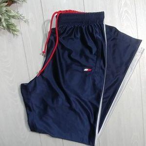 Tommy Hilfiger satin feel track pants